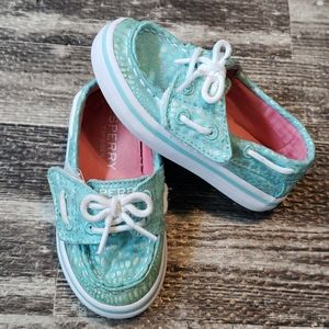 SPERRY TOP-SIDER SEABRIGHT JR. BOAT SHOES